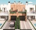 ESPMI/AF/002/34/20D8/00000,  Majorca, Es Trenc, new built semi detached villa with pool and garage for sale