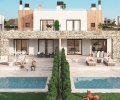 ESPMI/AF/002/34/10C7/00000, Majorca, Es Trenc, new built semi detached villa with pool and garage for sale
